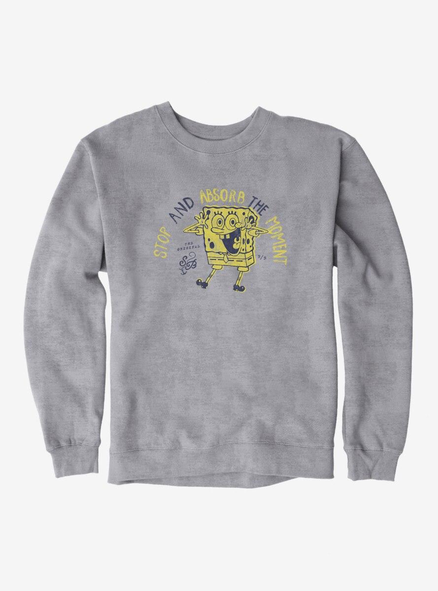 SpongeBob SquarePants Absorb The Moment Sweatshirt
