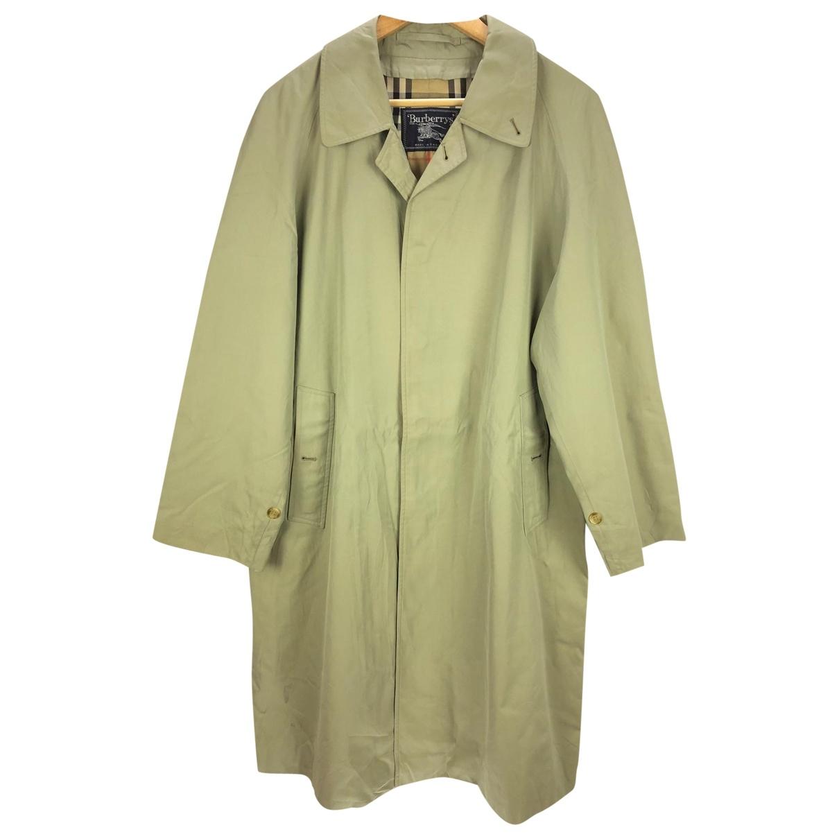 Burberry \N Khaki Cotton coat  for Men L International