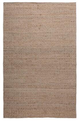 ELGEG9034NT000810 Ellington  EG9034-8' x 10' Jute and Wool hand Loomed  Jute/Wool  Rug in Natural  Rectangle