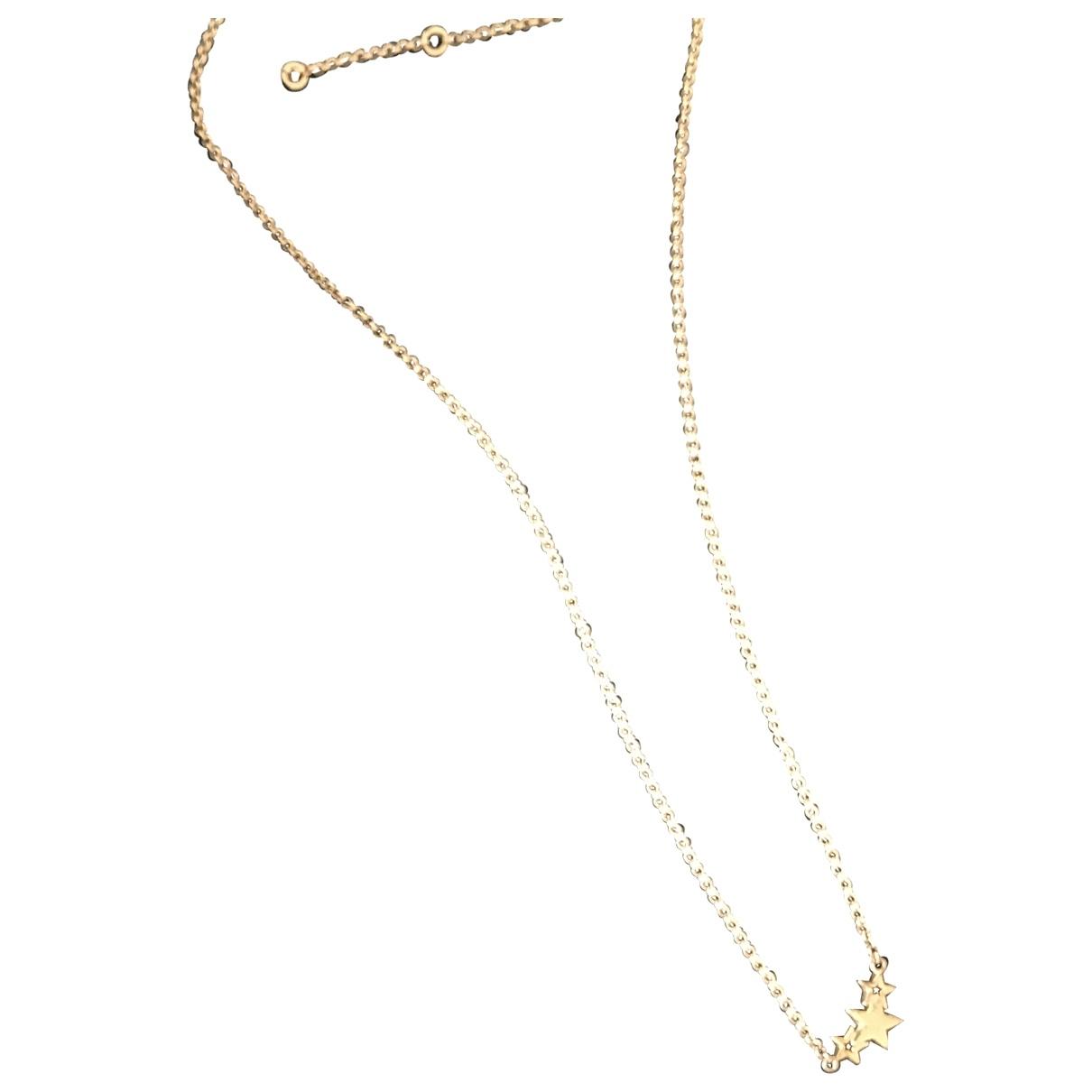 Aristocrazy - Collier   pour femme en plaque or - jaune