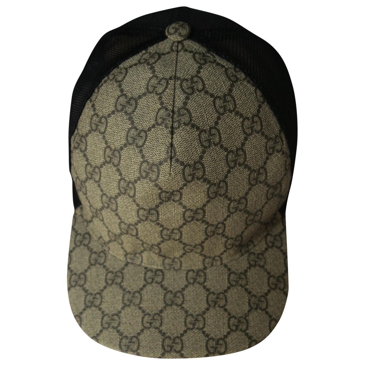 Gucci \N Hut, Muetzen in  Beige Polyester
