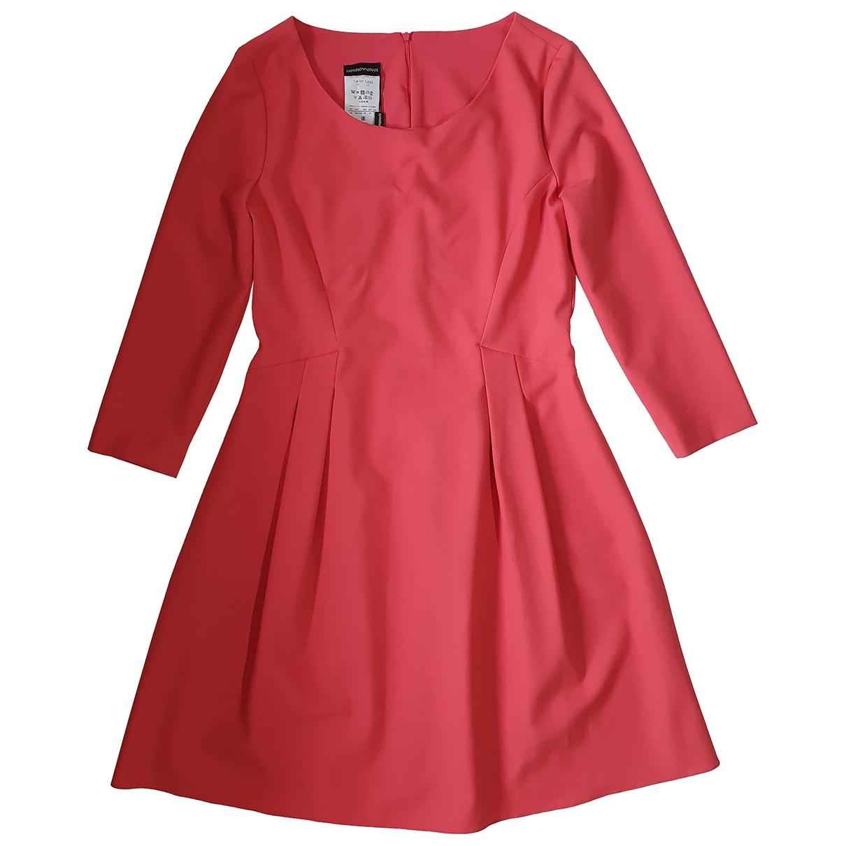 Emporio Armani - Robe   pour femme - rose