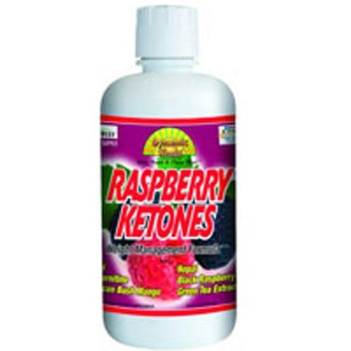 Raspberry Ketones Juice Blend 32 OZ by Dynamic Health Laboratories