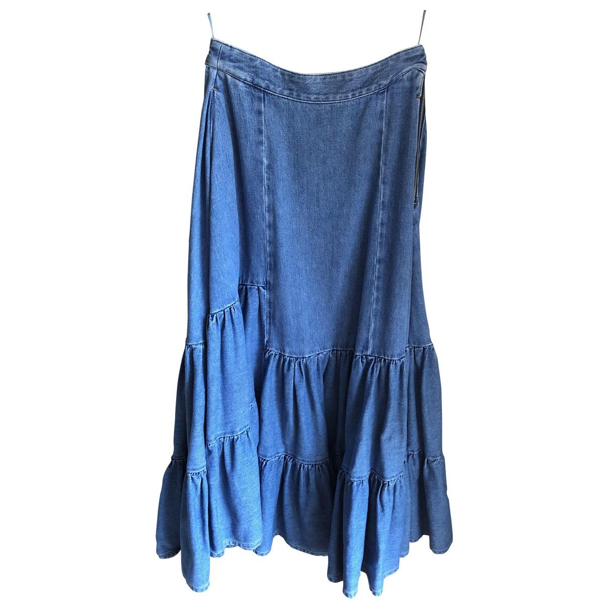 Mm6 \N Rocke in  Blau Denim - Jeans