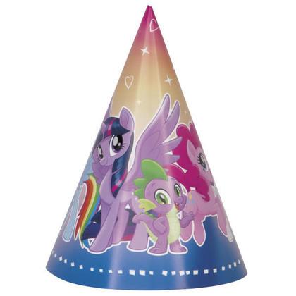 My Little Pony 8 Party Hats Pour la fête danniversaire