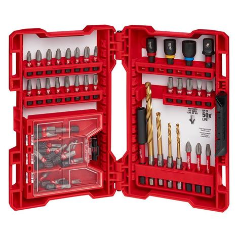 Milwaukee Shockwave™ 52-Piece Impact Drill and Drive Set