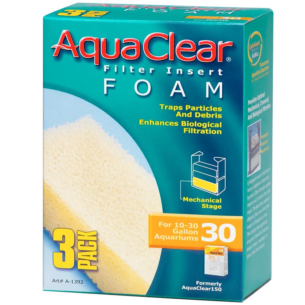 AquaClear 30 Filter Insert Foam (3 pack)