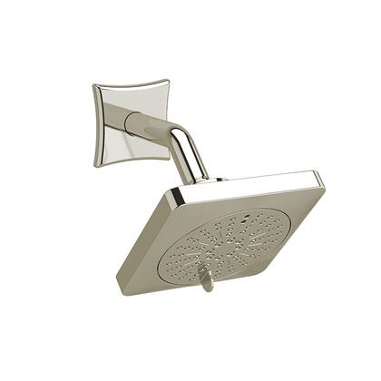 326PN 2-Jet Shower Head with Arm 2.0 GPM  in Polished