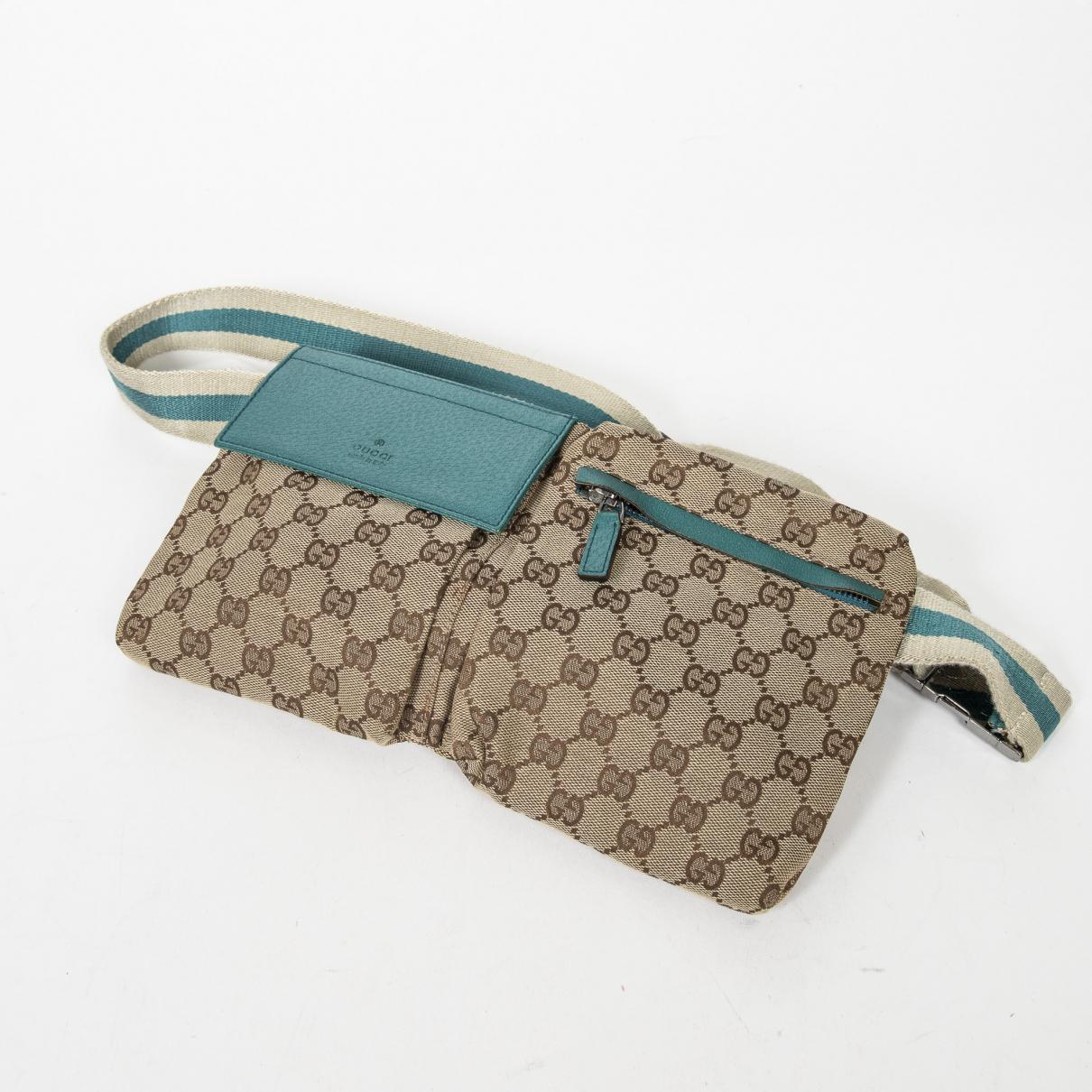Louis Vuitton \N Blue Cotton belt for Women M International