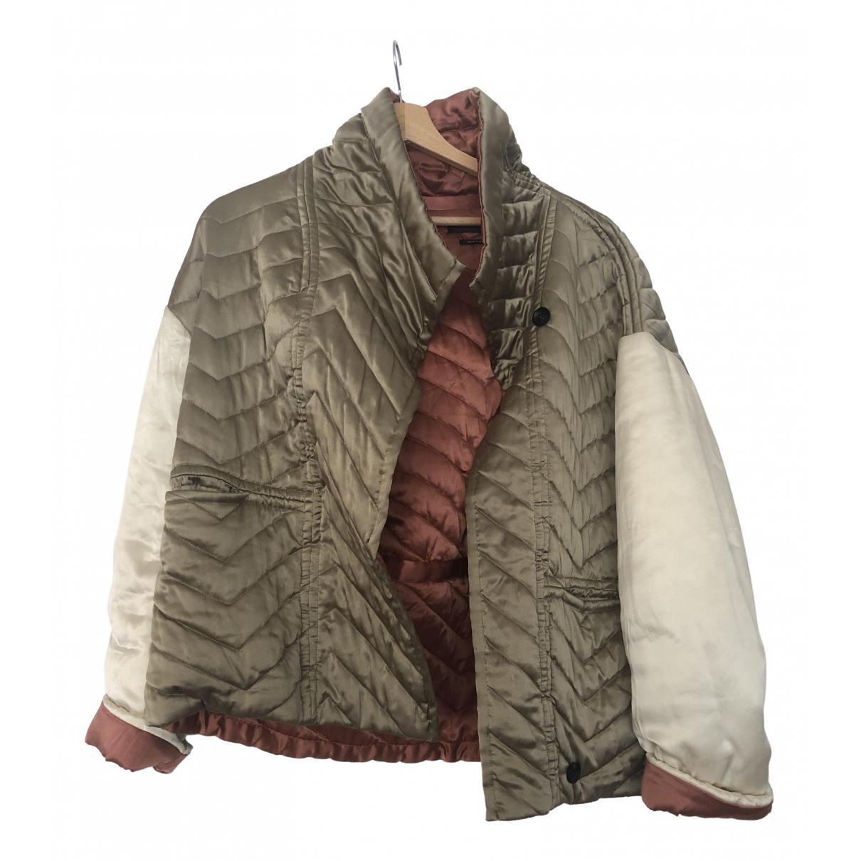 Isabel Marant \N Beige Silk jacket for Women 36 FR