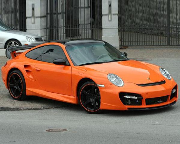 Precision Porsche PP-996TT_997TT-CONV 996TT to 997TT Conversion Body Kit Porsche 996 TT 01-05