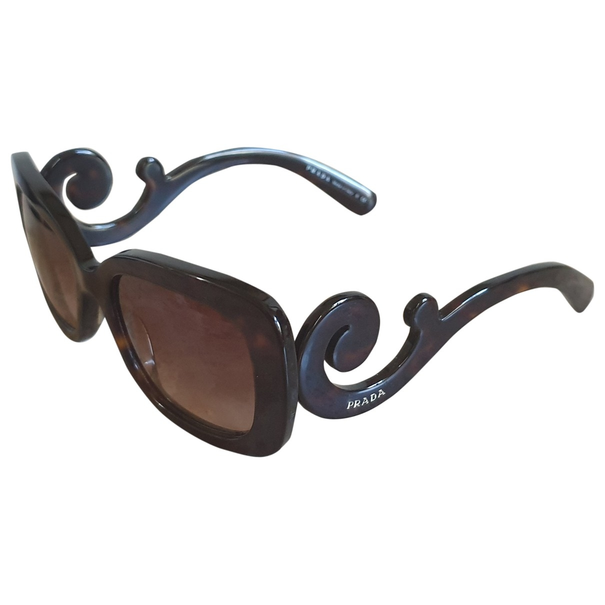 Prada \N Brown Sunglasses for Women \N