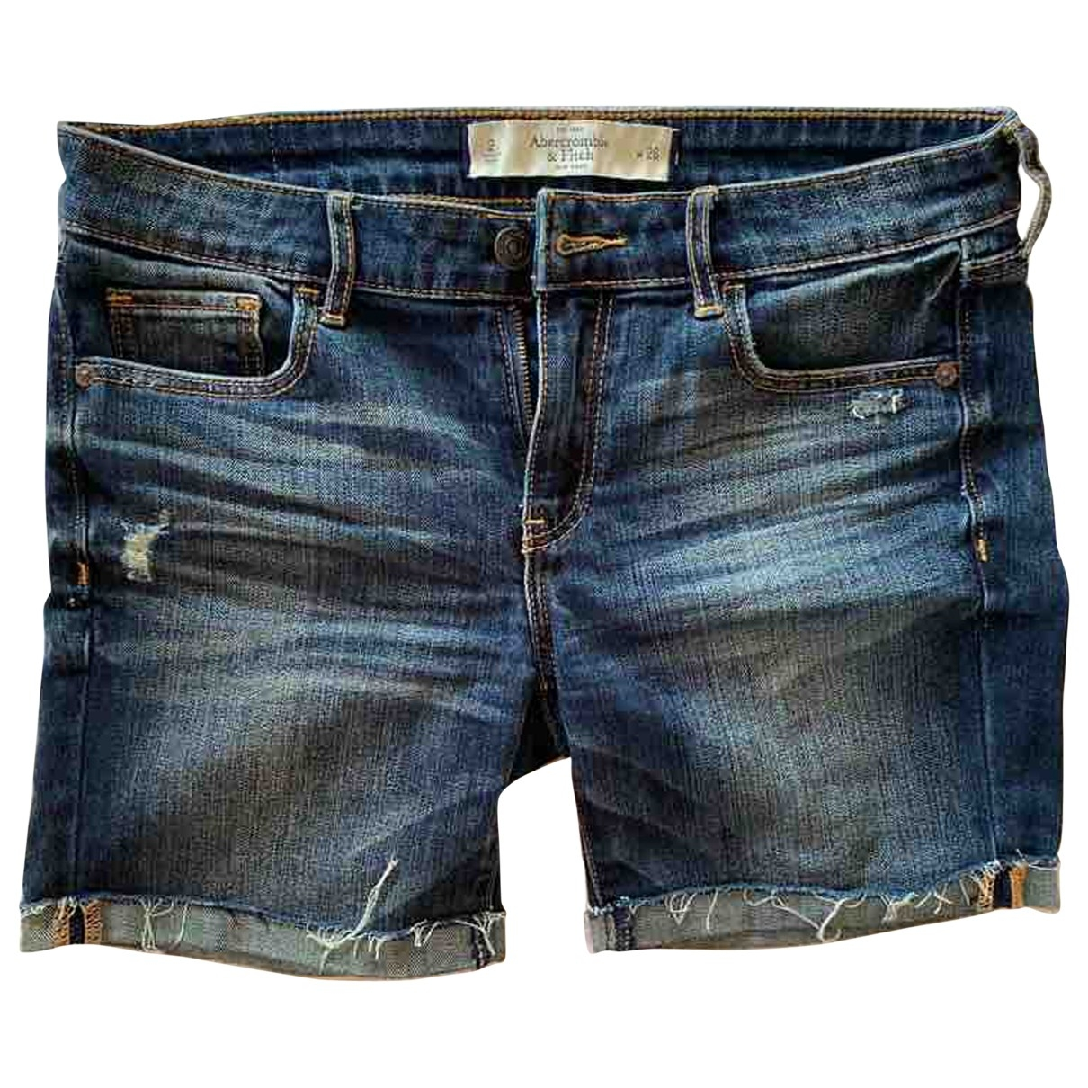 Abercrombie & Fitch \N Blue Denim - Jeans Shorts for Women 2 US