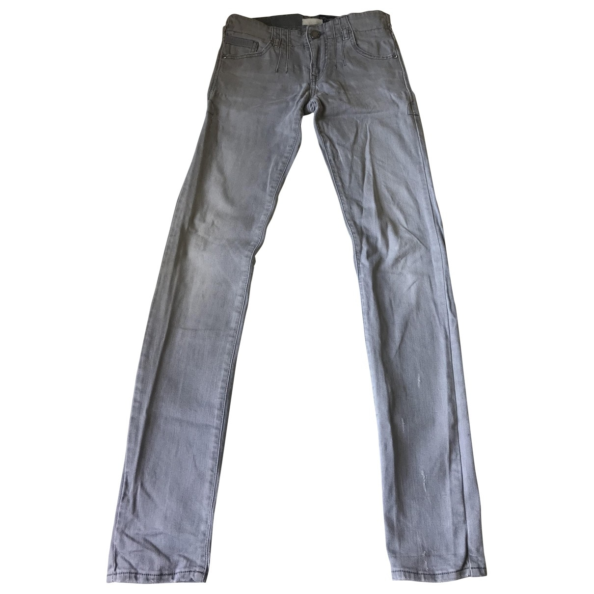 Emporio Armani \N Grey Denim - Jeans Jeans for Women 32 FR
