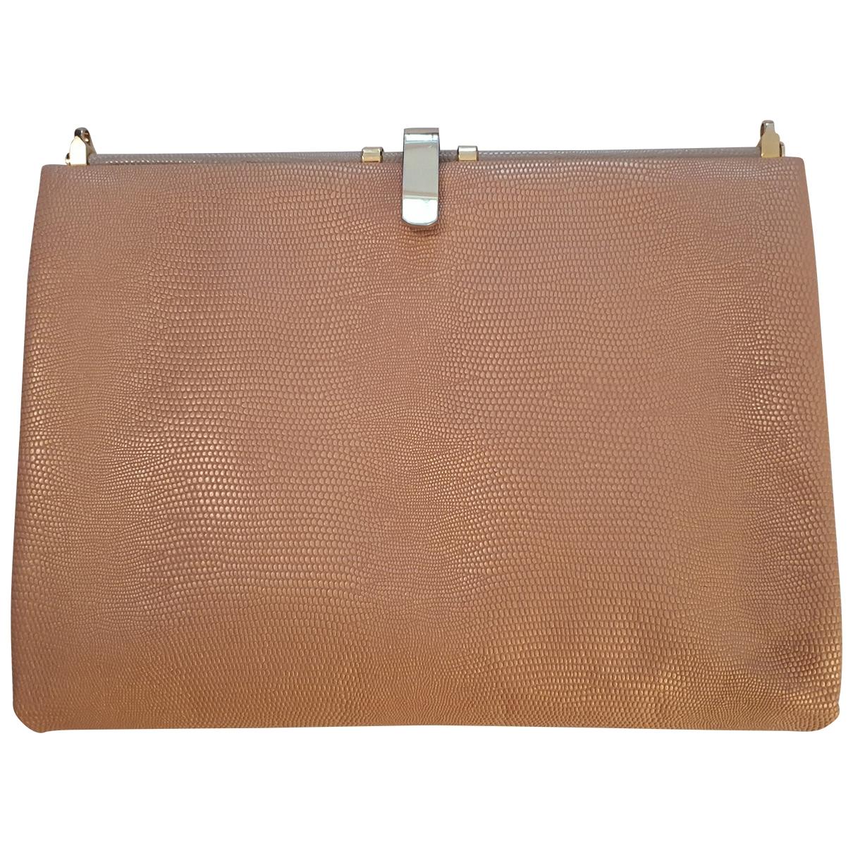 Otilia Flonta \N Handtasche in Leder