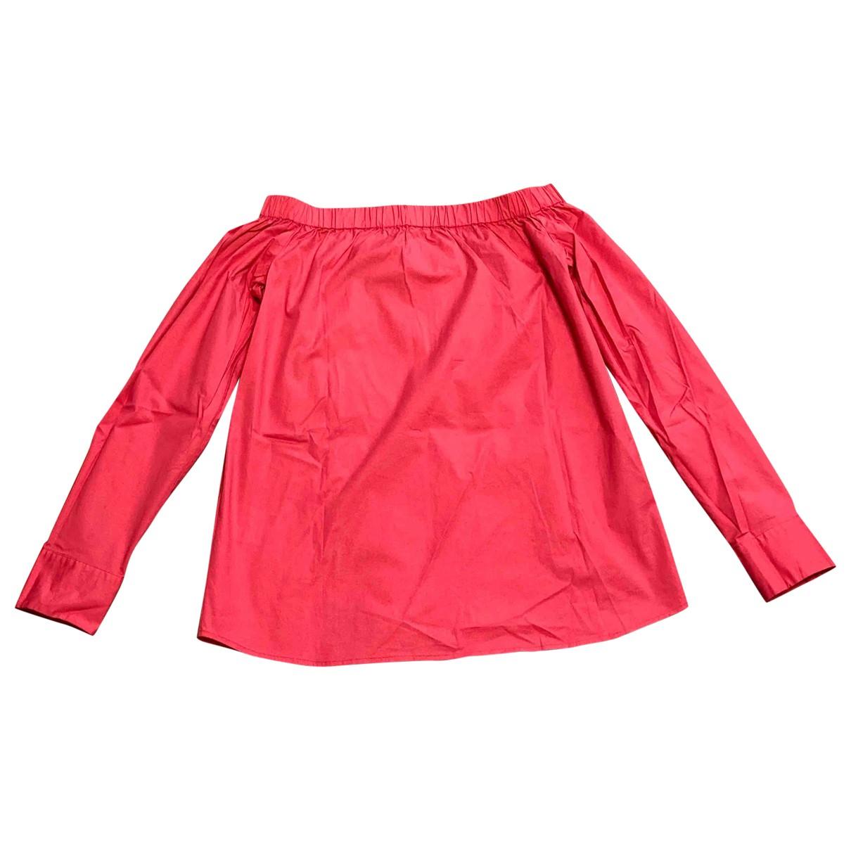 Boss - Top   pour femme en coton - rose
