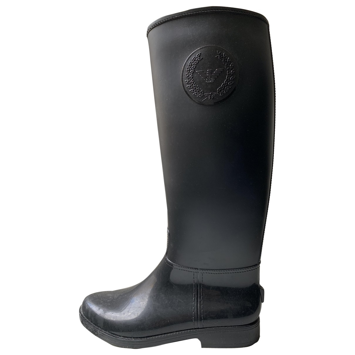 Giorgio Armani \N Black Boots for Women 39 EU