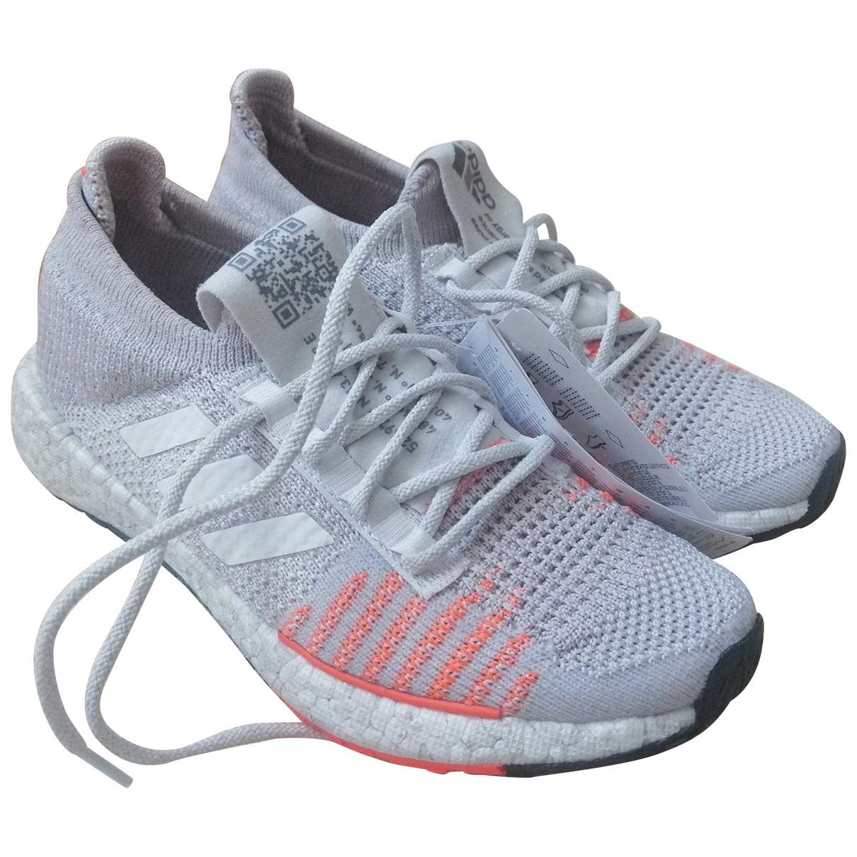 Adidas \N Grey Cloth Trainers for Women 36 EU