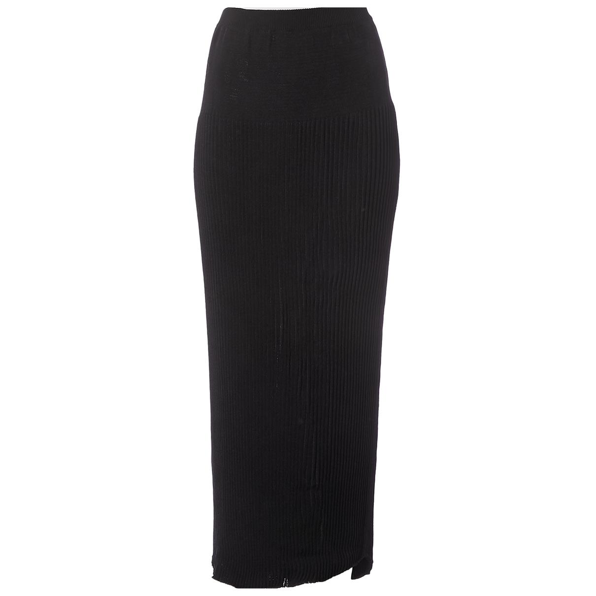 Yves Saint Laurent \N Black skirt for Women 40 FR