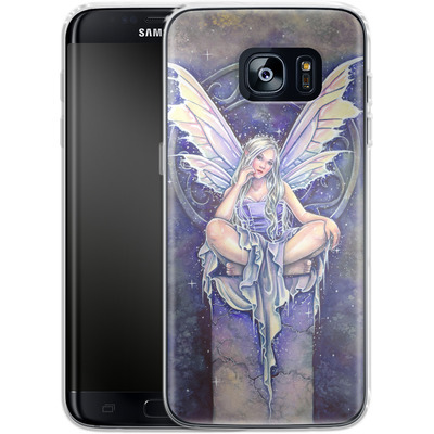Samsung Galaxy S7 Edge Silikon Handyhuelle - Shimmer von Selina Fenech