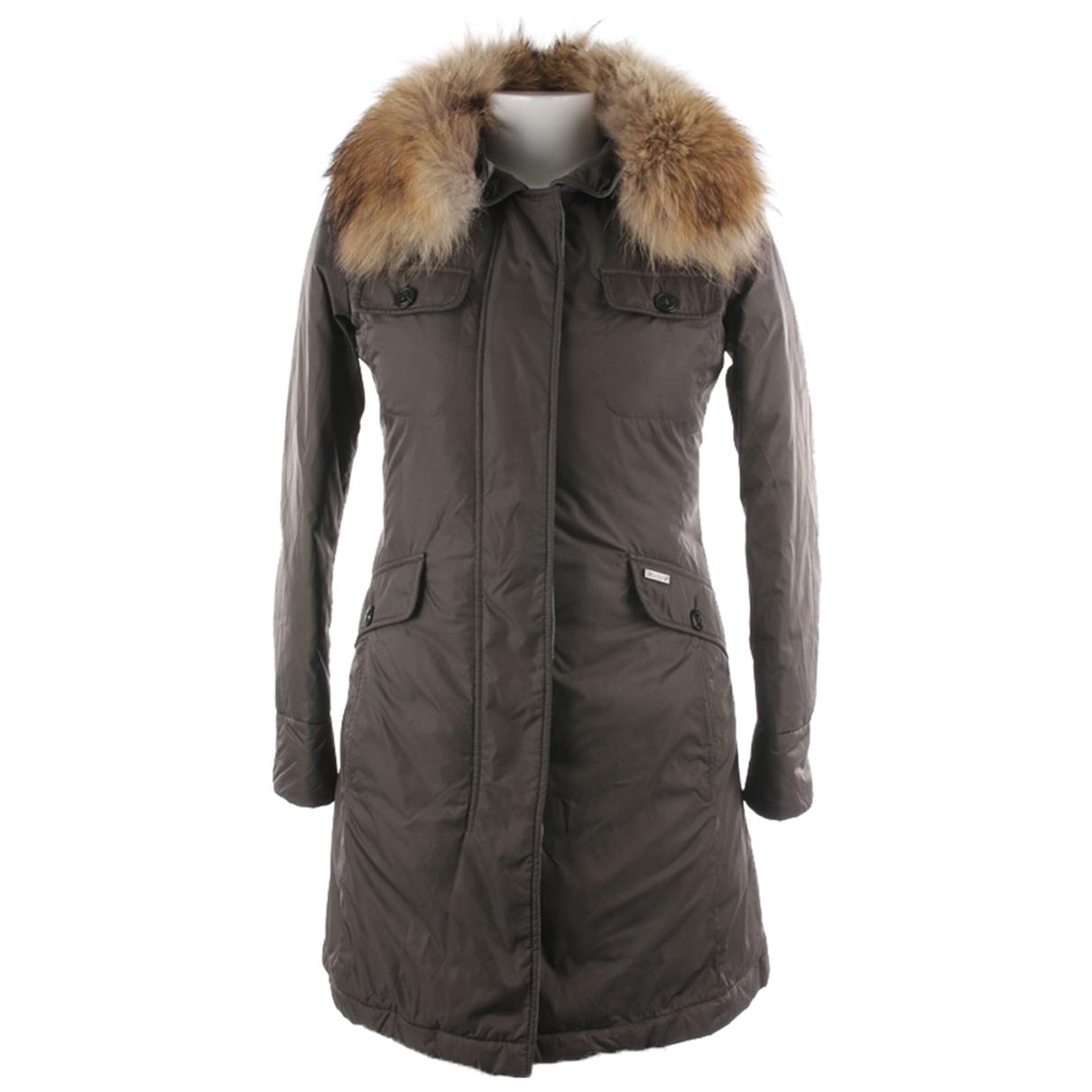 Woolrich N Grey jacket for Women 38 FR