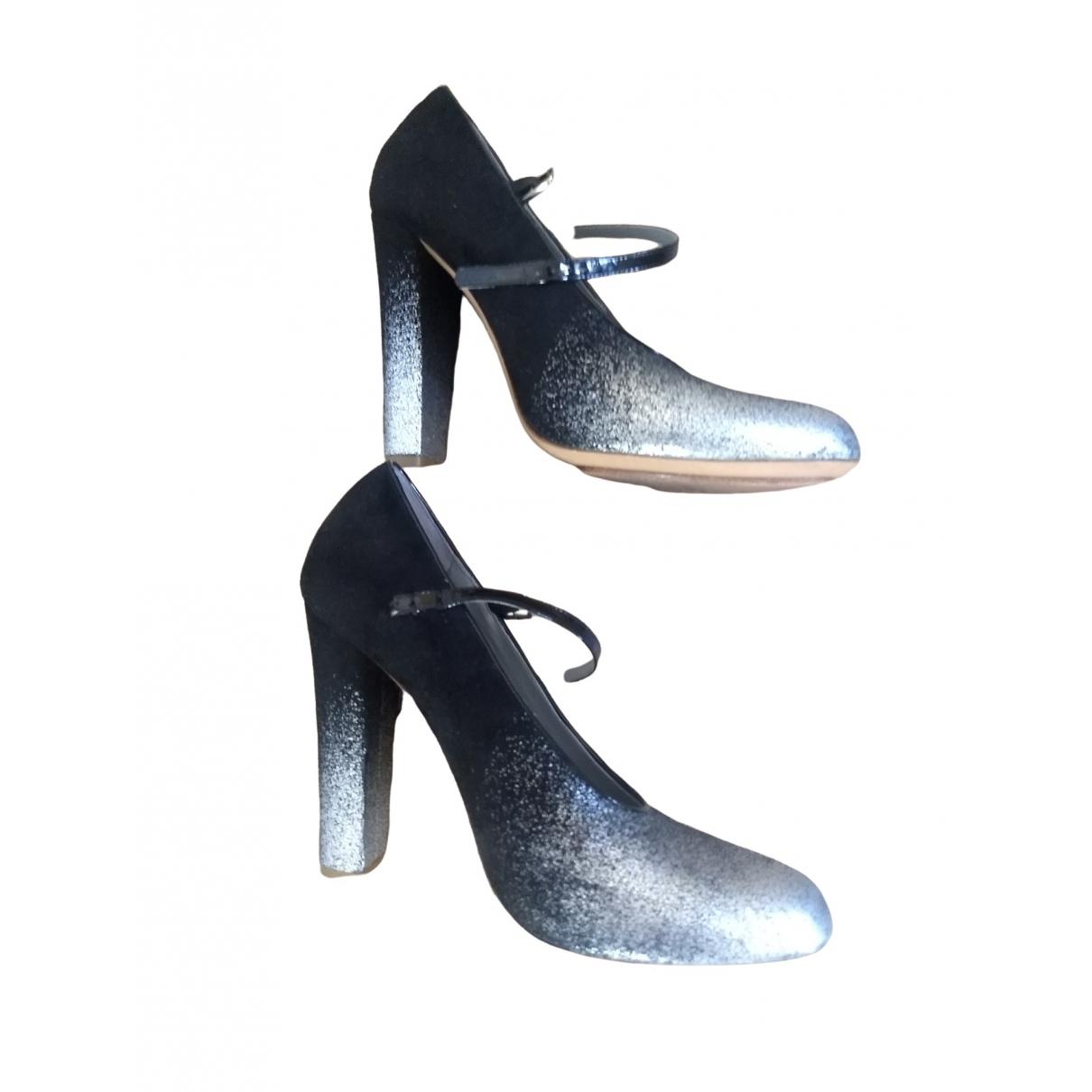 Marc Jacobs \N Black Leather Heels for Women 37.5 EU