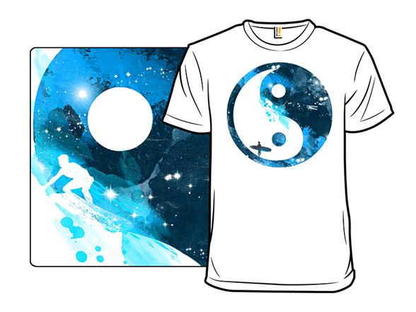 Yin Yang Surfers T Shirt