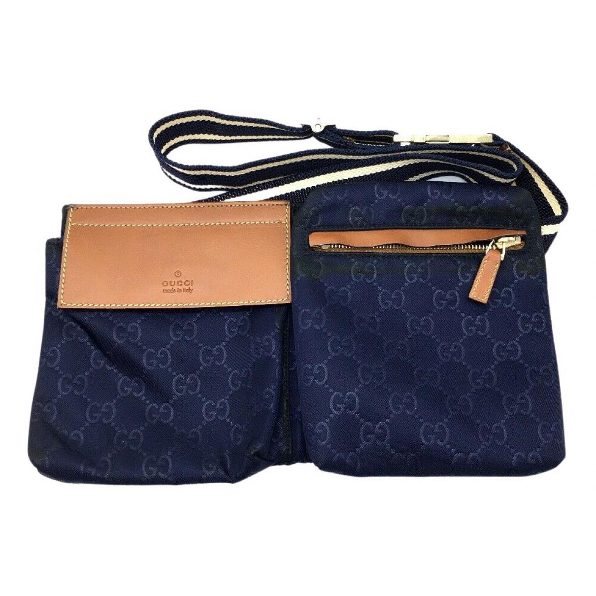 Gucci N Navy Cloth Clutch bag for Women N