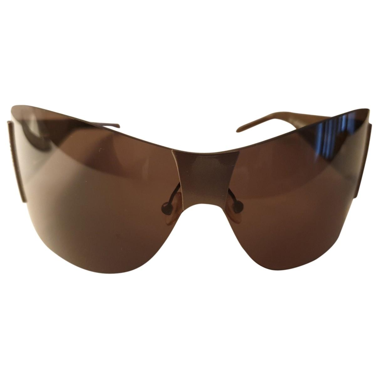 Gianfranco Ferré \N Brown Metal Sunglasses for Women \N