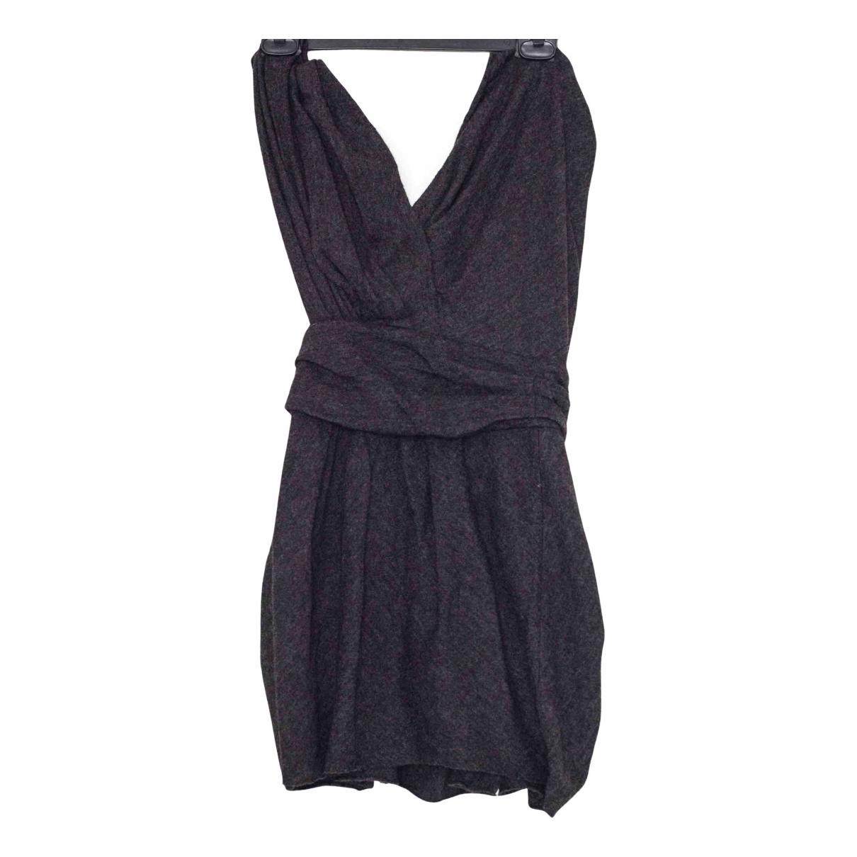 Isabel Marant \N Kleid in  Grau Wolle