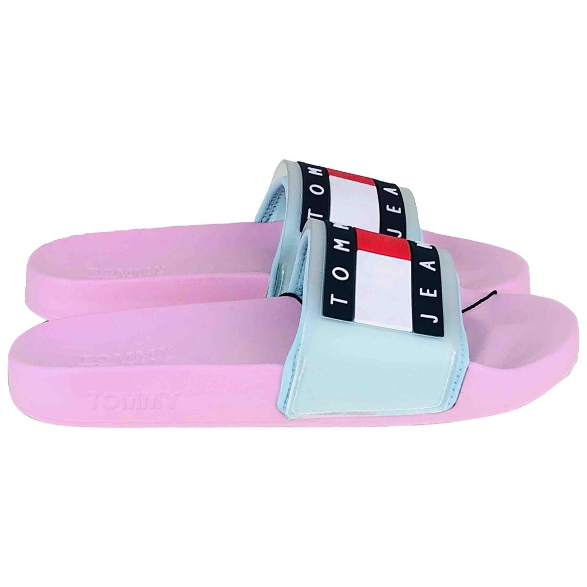 Tommy Jean - Sandales   pour femme en caoutchouc - rose