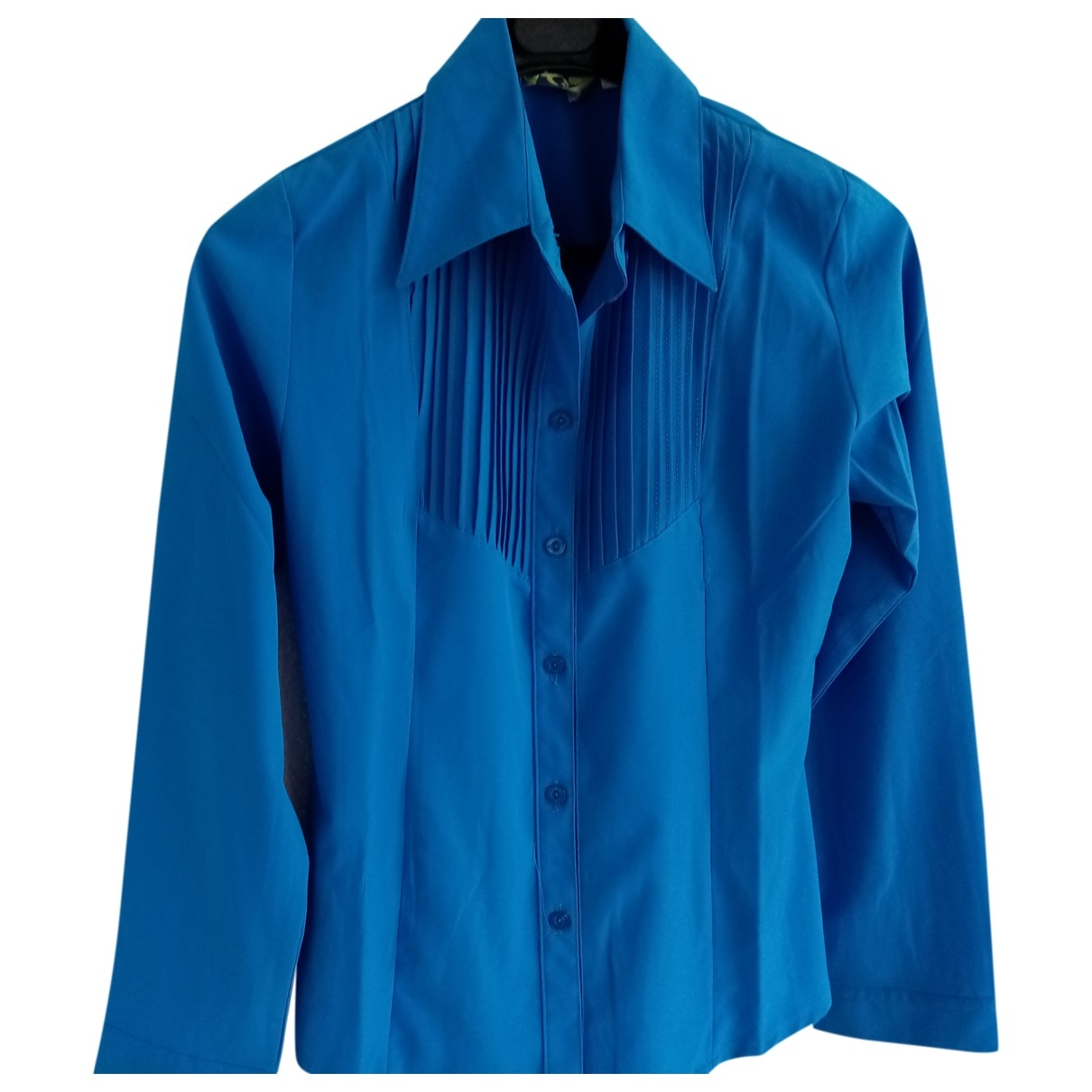 Non Signé / Unsigned \N Blue Cotton  top for Women M International