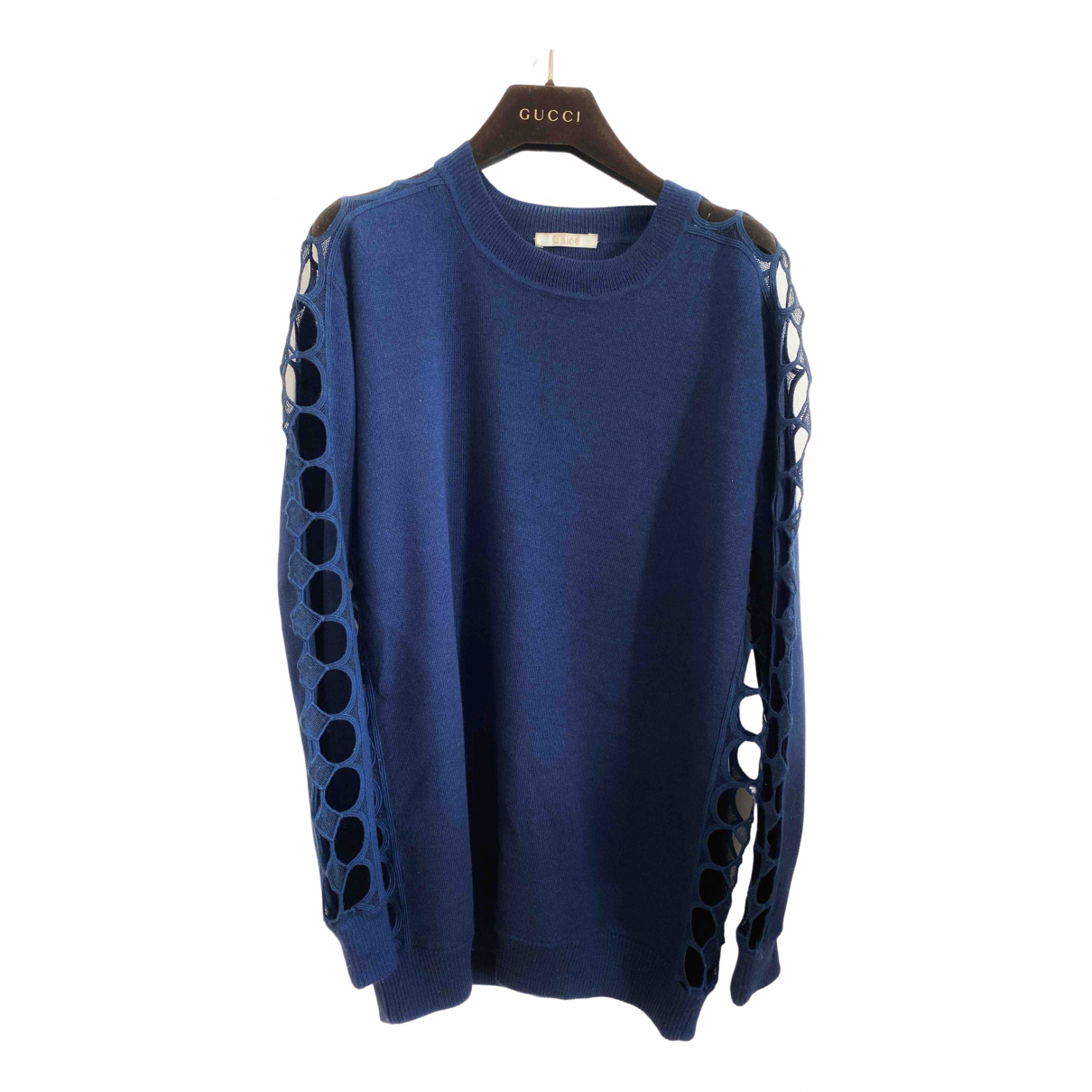 Chloé \N Blue Cashmere Knitwear for Women 38 FR