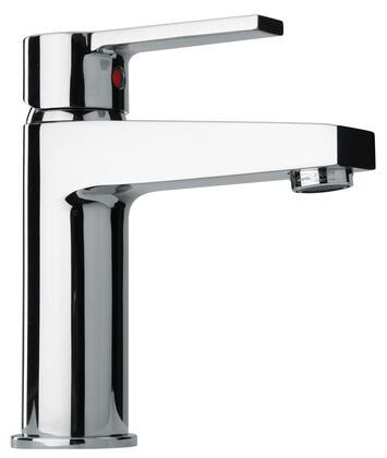 14211-40 Single Lever Handle Lavatory Faucet With Classic Spout  Flash Black