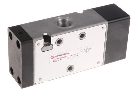 Norgren 3/2 Pneumatic Control Valve Pilot/Spring G 3/8 V62 Series