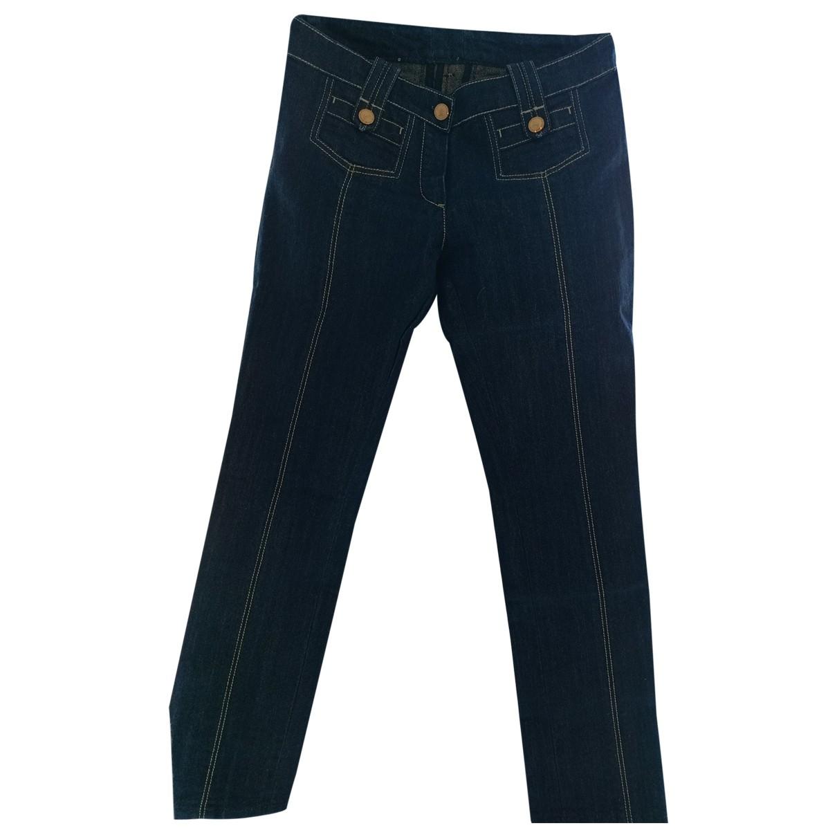 Louis Vuitton \N Blue Denim - Jeans Jeans for Women 38 FR