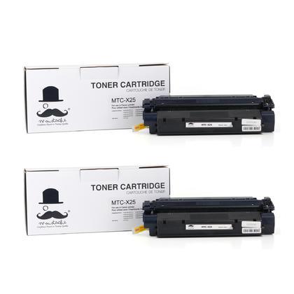 Compatible Canon X25 8489A001AA Black Toner Cartridge - Moustache@ - 2/Pack