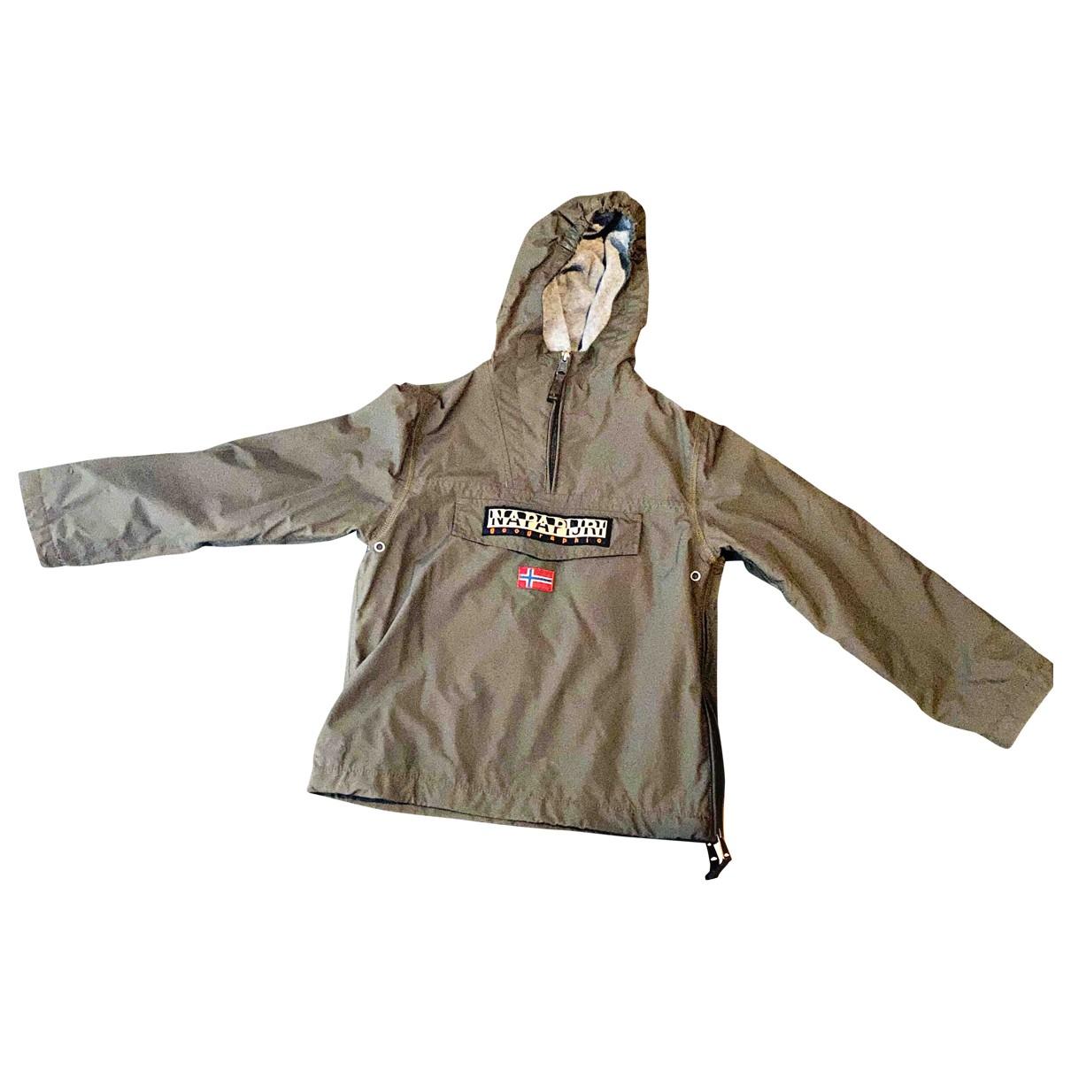 Napapijri - Blousons.Manteaux   pour enfant - vert