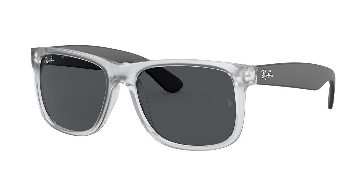Ray-Ban RB4165 Justin 651287 Women's Sunglasses Grey Size 51