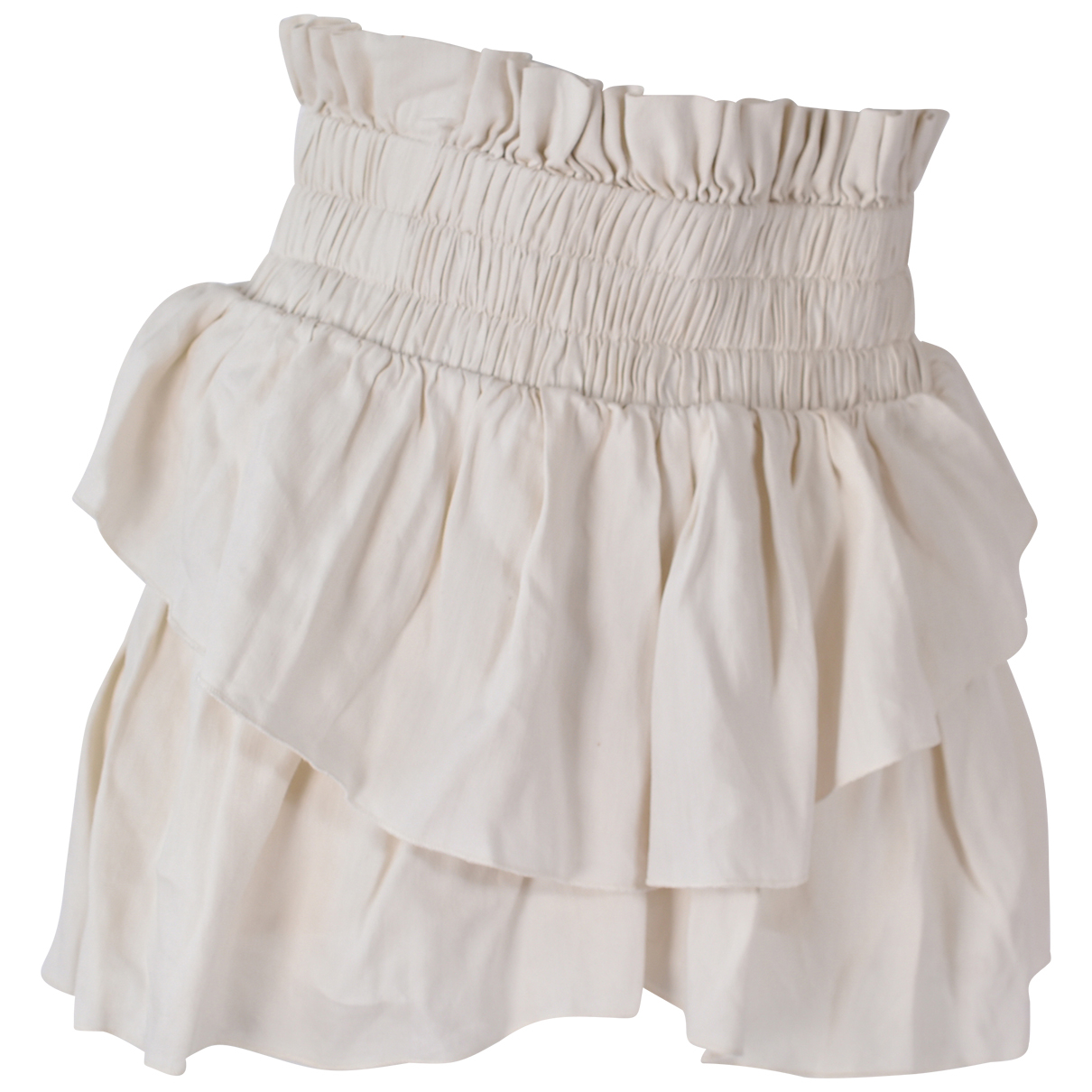 Isabel Marant Etoile \N Beige Linen skirt for Women 36 FR