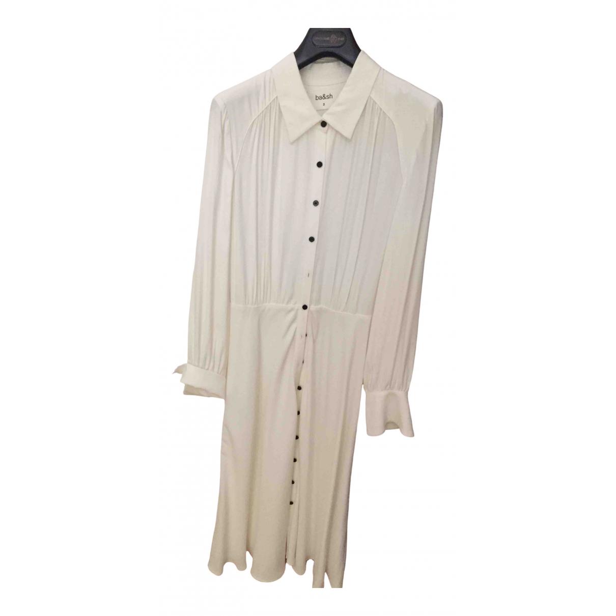 Ba&sh - Robe Spring Summer 2019 pour femme - blanc
