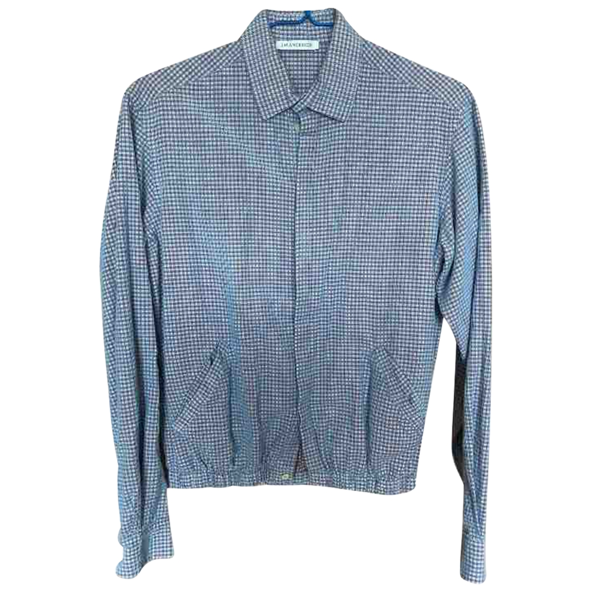 J.w. Anderson \N Blue Cotton Shirts for Men M International
