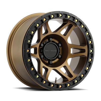 Method Race Wheels 106 Beadlock, 17x9 Wheel 5 on 5 Bolt Pattern - Bronze - MR10679050944B