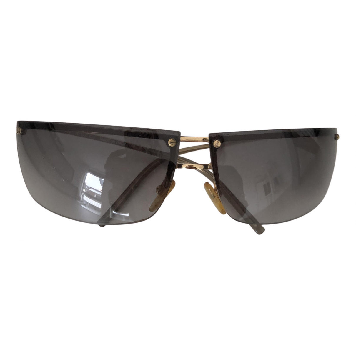 Gucci N Gold Metal Sunglasses for Women N