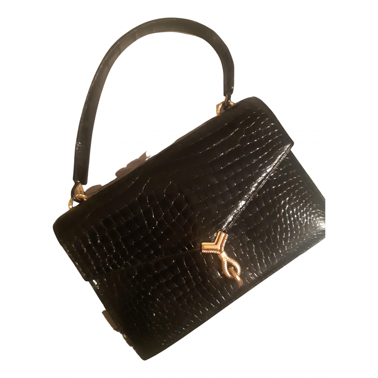 Hermès N Black Crocodile Clutch bag for Women N