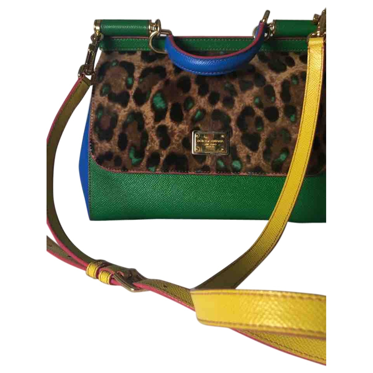 Dolce & Gabbana Sicily Multicolour Leather handbag for Women \N