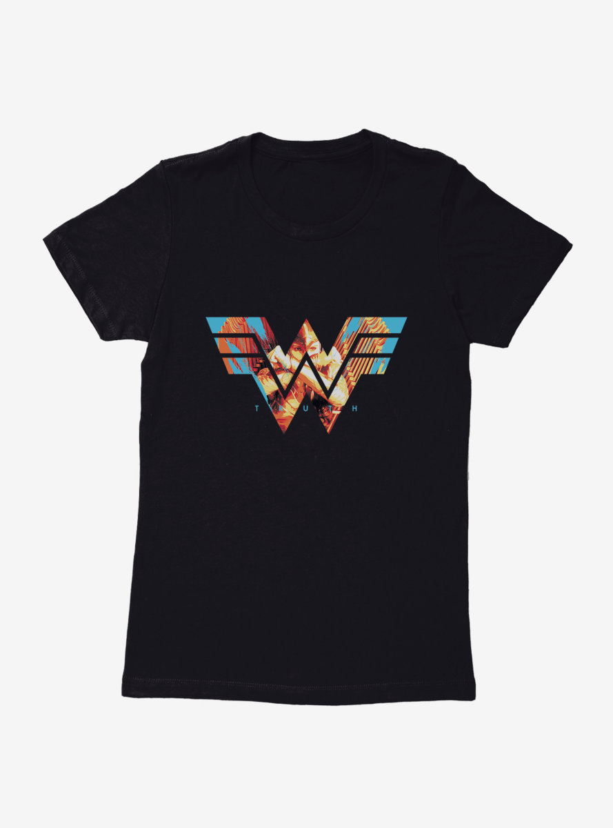 DC Comics Wonder Woman 1984 Golden Flight Womens T-Shirt