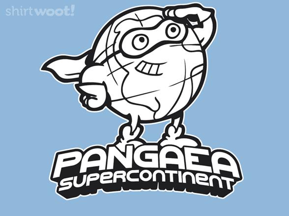 Pangaea: Supercontinent T Shirt