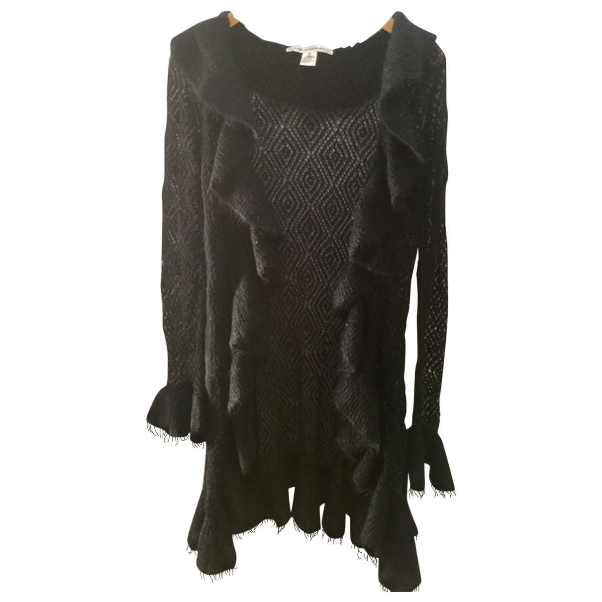 Diane Von Furstenberg \N Black Wool Knitwear for Women M International