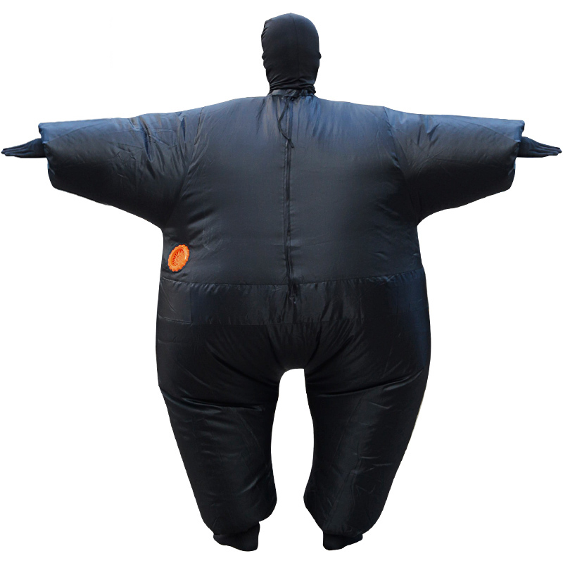 Halloween Funny Fat Man Sumo Inflatable Costume